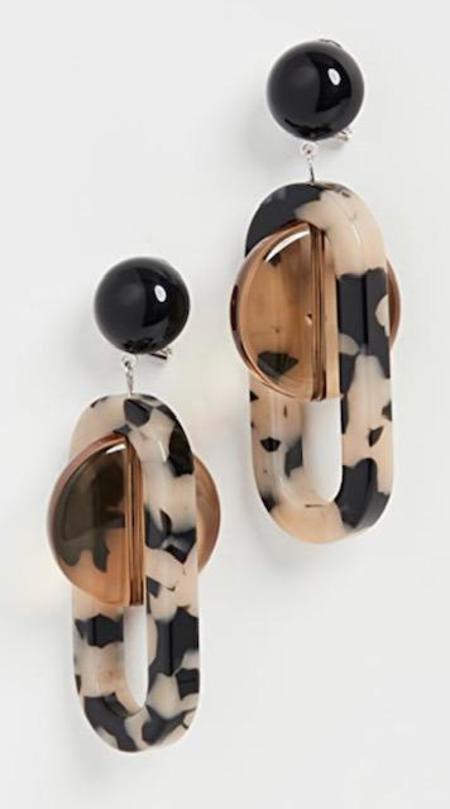 Rachel Comey Lohr Earrings - Dalmatian Multi