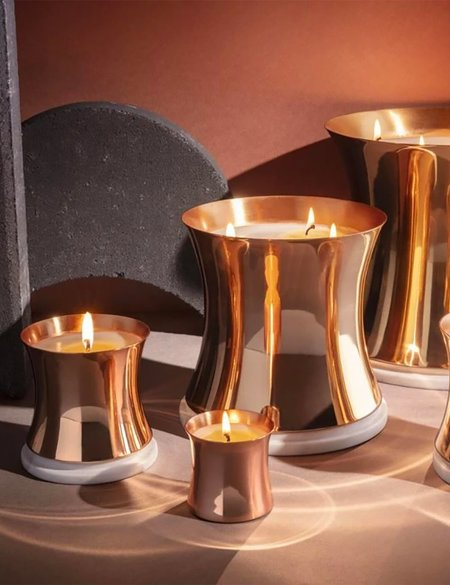 Tom Dixon London Candle (Medium) - Brass