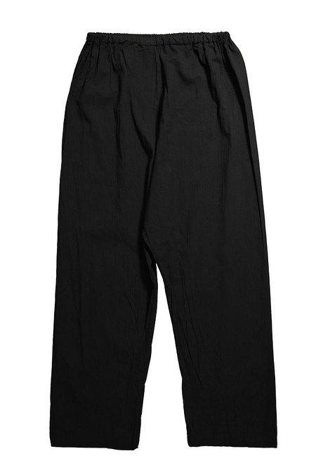 Uzi NYC Drop Crotch Pant - black