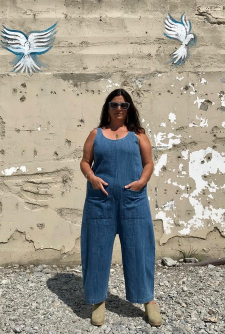 Ilana Kohn Gary Jumpsuit - Faded Denim