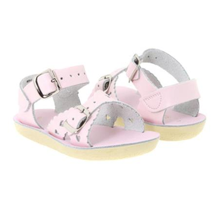 Kids Saltwater Sandals Sweetheart Sandals - Pink