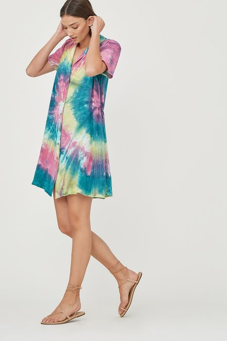 Lacausa Quinn Dress - Cosmic Swirl