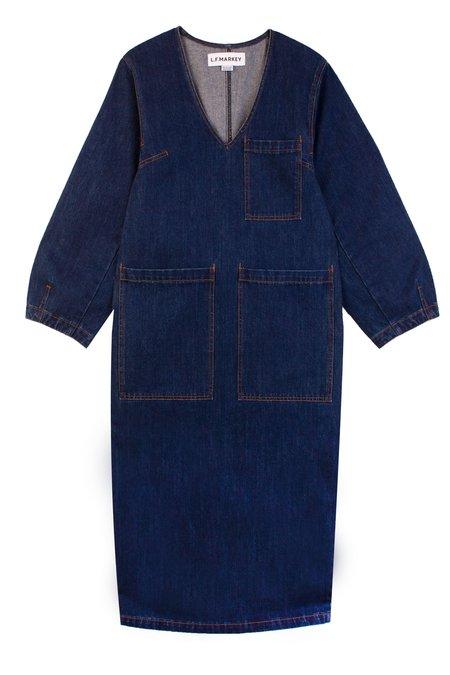 L.F.Markey Merlon Dress - Indigo
