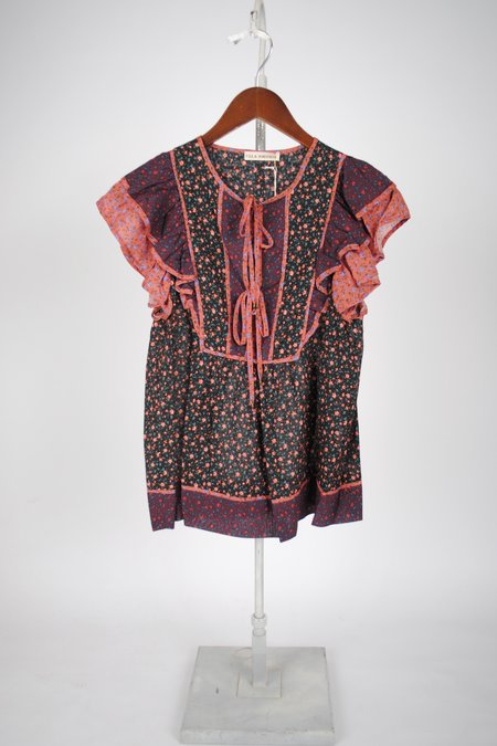 Ulla Johnson Cora Top - Auburn