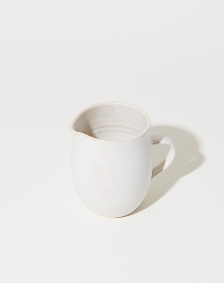 Sheldon Ceramics Farmhouse Creamer - Eggshell