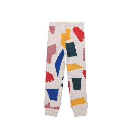 Kids Bobo Choses Shadows Knitted Pant - Multi