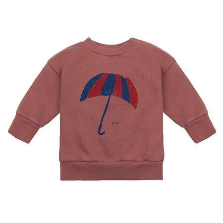 Kids Bobo Choses Baby Sweatshirt With Umbrella Print - Brown