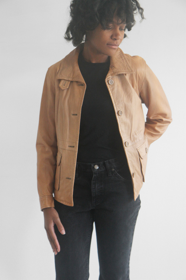 The Shudio Vintage Butter Leather Jacket