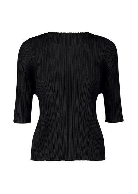 Issey Miyake August Sleeve Top - Black
