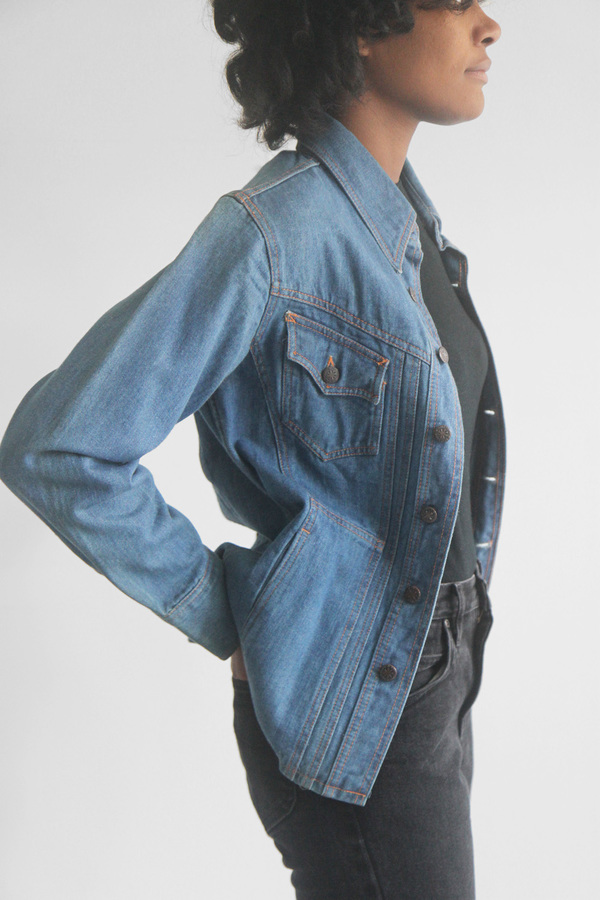 The Shudio Vintage Britannia Denim Jacket
