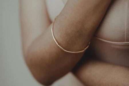 Takara Design Sabine Bangle - Gold Plated