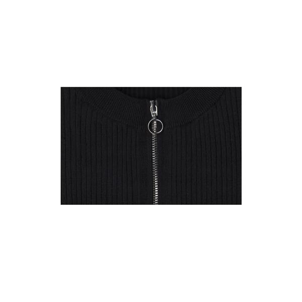 Pari Desai Zip Bodysuit - Black