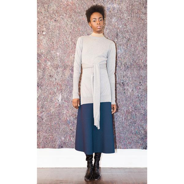 Pari Desai Wrap Sweater
