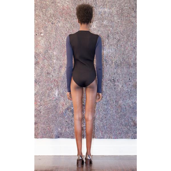 Pari Desai Color Blocked Bodysuit