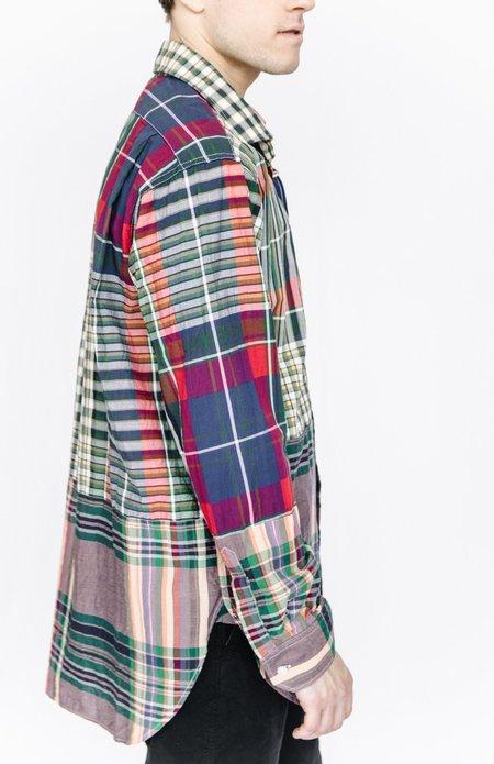 Engineered Garments Button Down Shirt - Mixed Plaid
