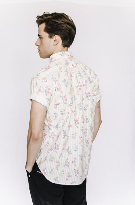 Engineered Garments Pullover Shirt - Yellow Floral