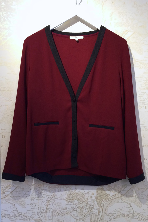 Rhié Colour Block Knit Cardigan