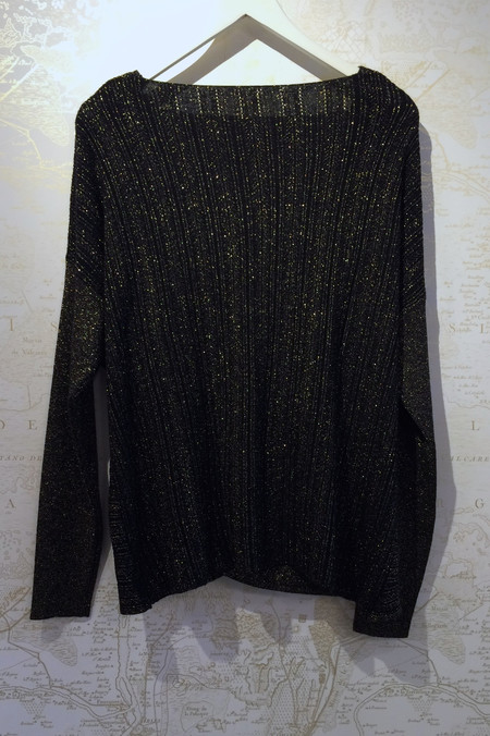 Derek Lam 10 Crosby Lurex Cross Front Sweater