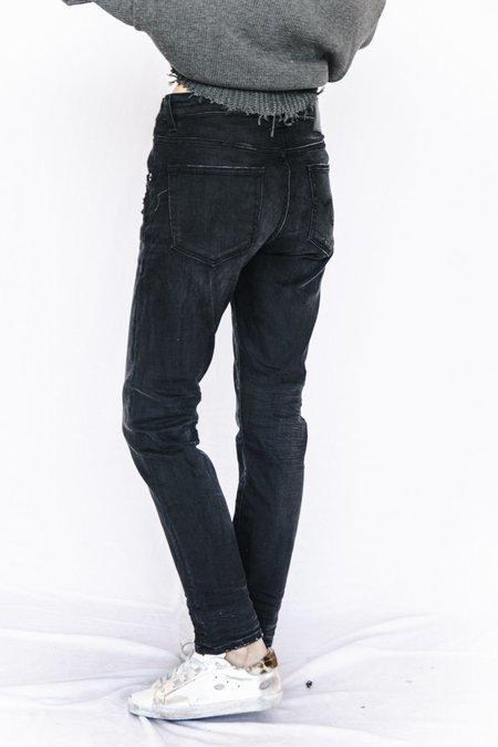 R13 Midrise Denim Skinny Jean - Black