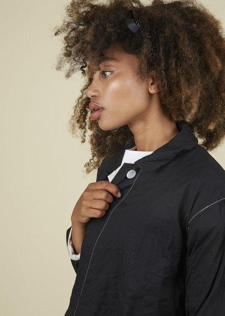 Yoshi Kondo Action Manteau Coat - Black & White