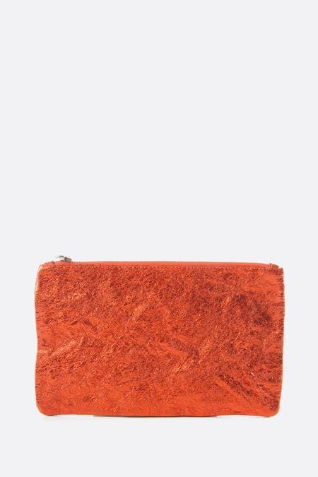Zilla Metallic Big Pouch - Orange