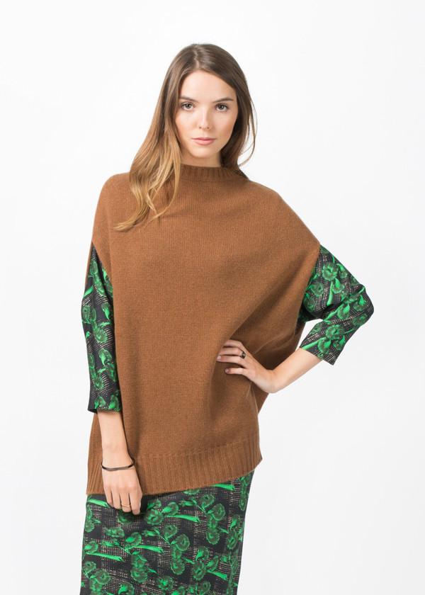 Laura Urbinati Cashmere Sleeveless Sweater