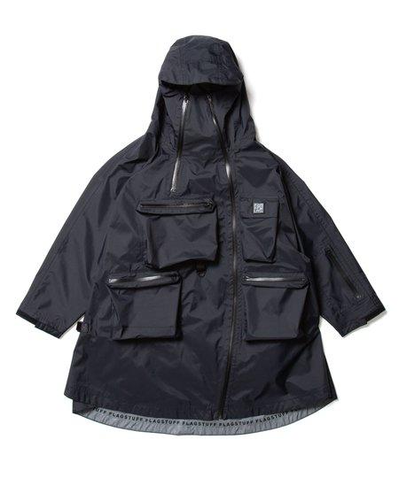 "Flagstuff ""3M Nylon Poncho"" - Black"