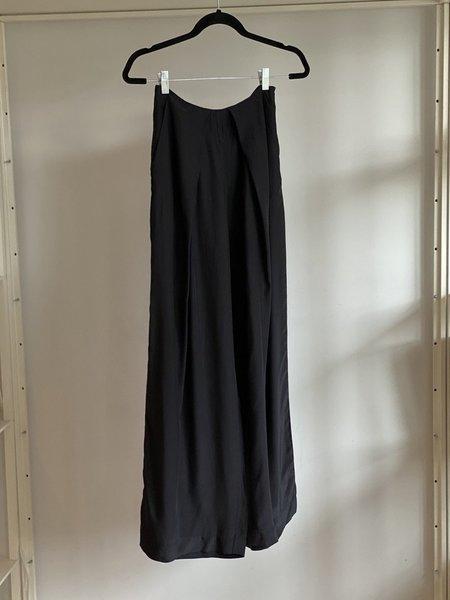 Vincetta Silk Willow Pants - Black