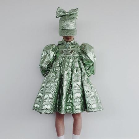 Kids Caroline Bosmans Sleeveless Dress - Metal Mermaid