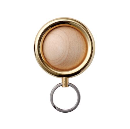 Timbre Wakka Key Ring & Holder - Gold