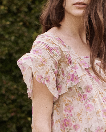 The Great. The Orchard Top - Sweet Pea Floral