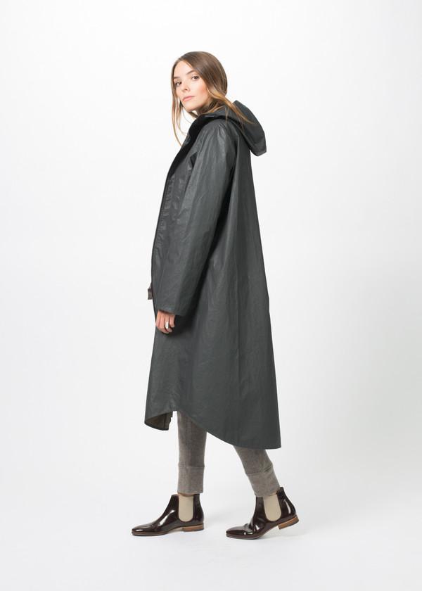 Hudson High Pocket Long Coat