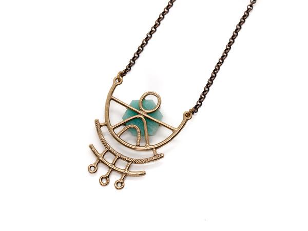 Laurel Hill Jewelry Dreamweaver Necklace // Amazonite