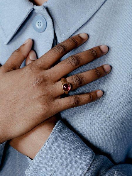 Wolf Circus Magda Ring - Ruby