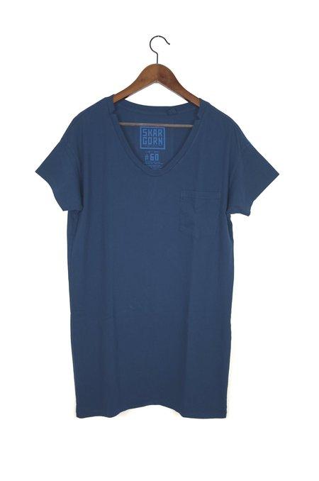 Skargorn #60 Tee Dress - Vintage Navy