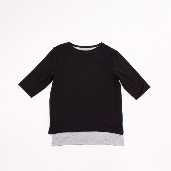 Kid's Age To Come Apparel YOM REVERSIBLE ¾ SLEEVE TEE