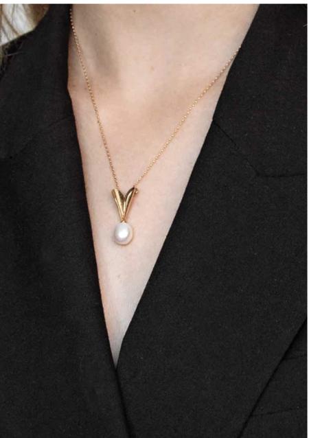 Mirit Weinstock Secret Heart Necklace