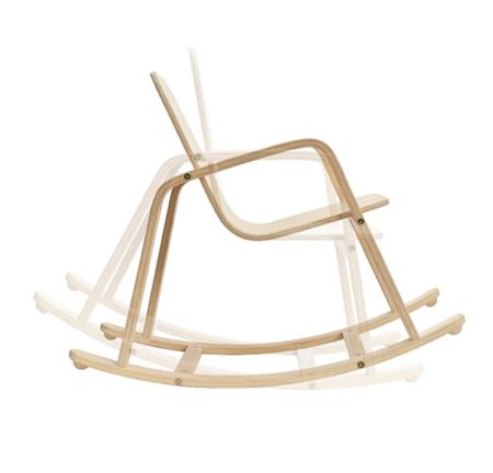 Kids Plan Toys Bentwood Rocking Chair