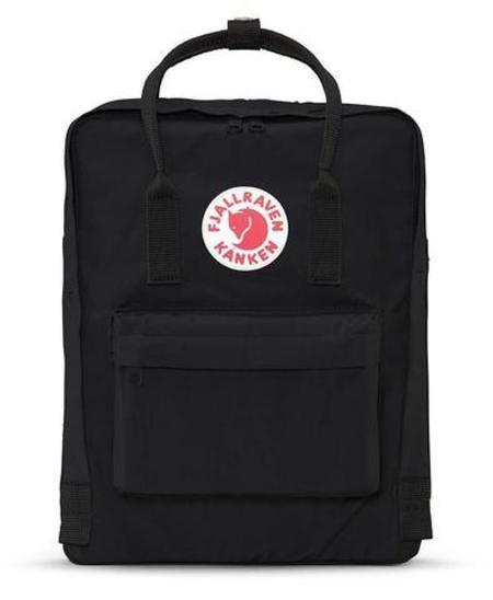 Unisex Fjallraven Kanken Backpack - Black