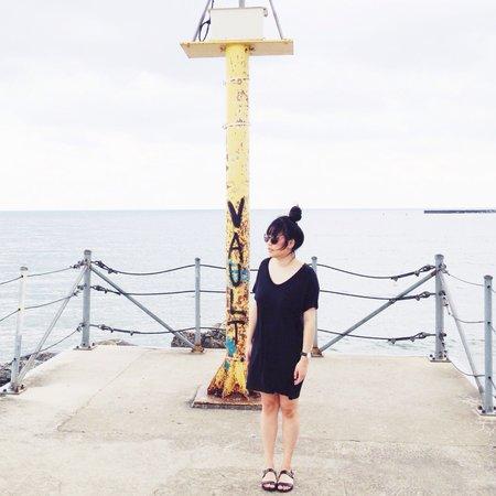 Skargorn #60 Tee Dress - Marine Wash