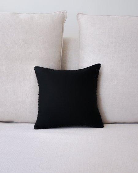VOZ Chevron Pillow Small - Pewter/Black