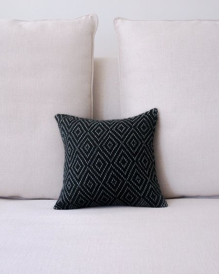 VOZ Diamantito Pillow Small - Forest/Grey