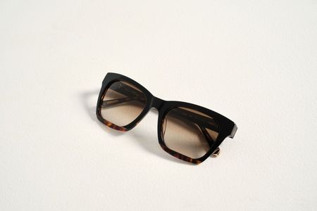 Kate Young for Tura Hana Sunglasses - Dark Turquoise