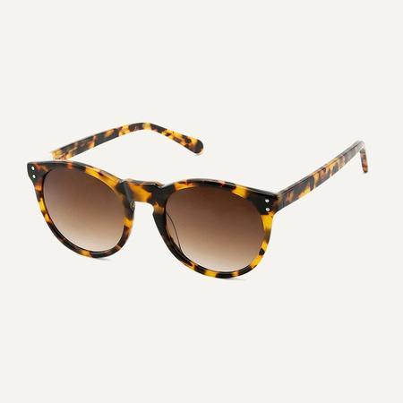Unisex Pala Eyewear Asha Sunglasses - Sunflower Tortoiseshell