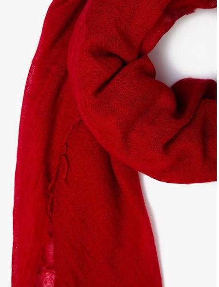 Chan Luu 100% Cashmere Scarf - Red