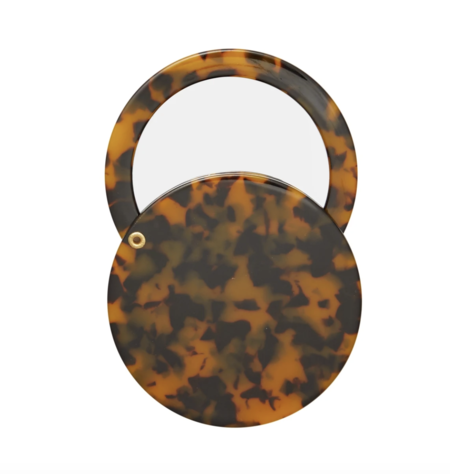Machete Circle Mirror - Classic Tortoise