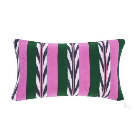 Archive New York Ikat Pillow - Palm