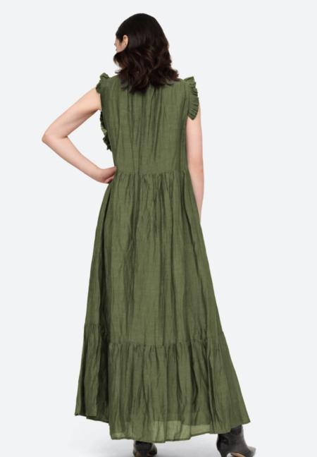 Sea NY Tessa Taddeta Sleeveless Maxi - Emerald