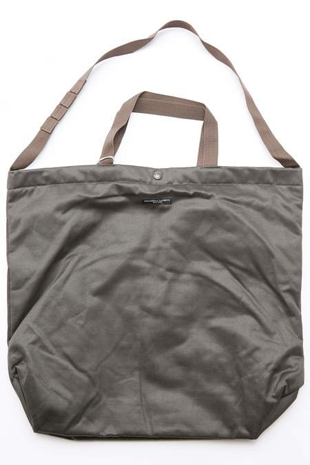 Engineered Garments Carry All Tote - Dk. Olive Coated Twill