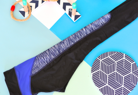 VPL X-Curvate Legging W: Navy Space Dye